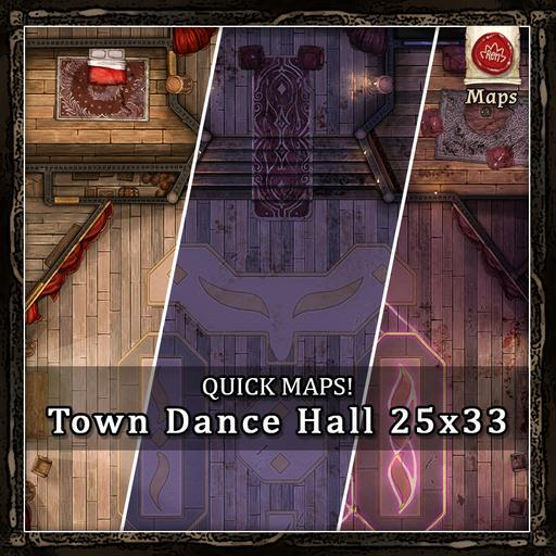 Quick Maps! - Town Dance Hall