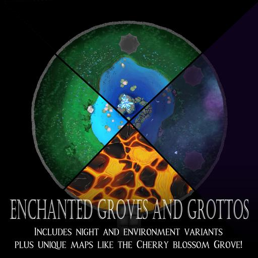 Enchanted Grove and Grotto Map Pack