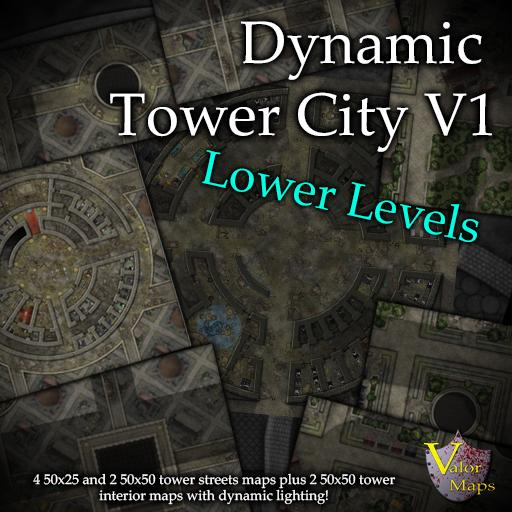 Dynamic Tower City V1