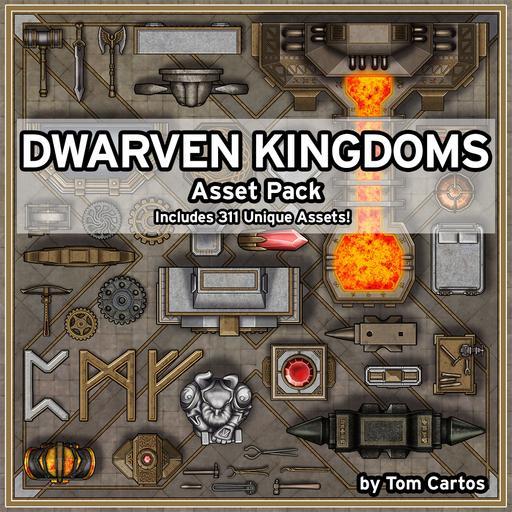 Dwarven Kingdoms Asset Pack