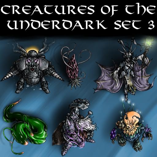 Creatures of the Underdark Set 3