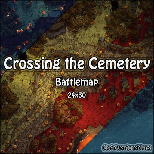 Crossing the Cemetery