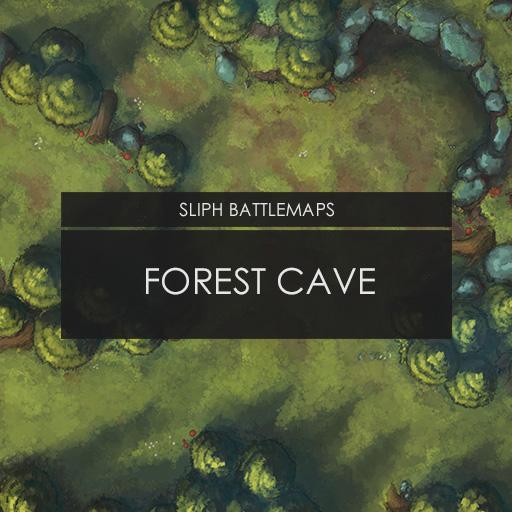 Forest Cave   Battlemap