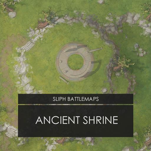 Ancient Shrine | Battlemap
