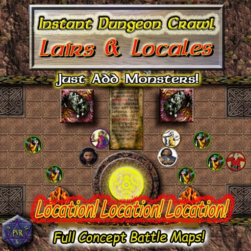 Instant Dungeon Crawl: Lairs & Locales