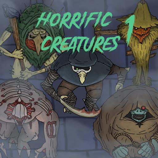 Horrific Creatures 1