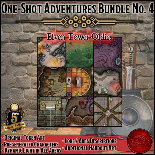 One-shot Adventures Bundle No. 4 - Oldies