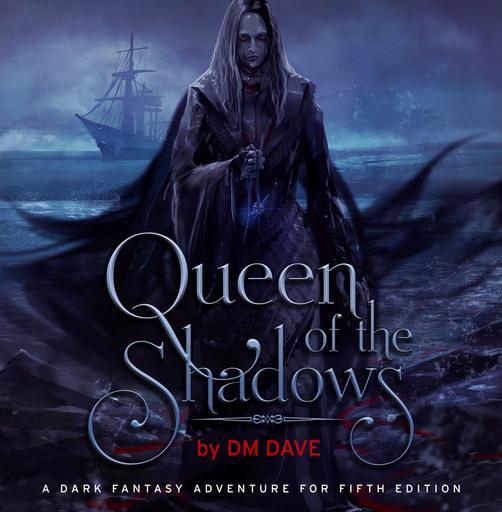 Queen of the Shadows: A Dark Fantasy Adventure