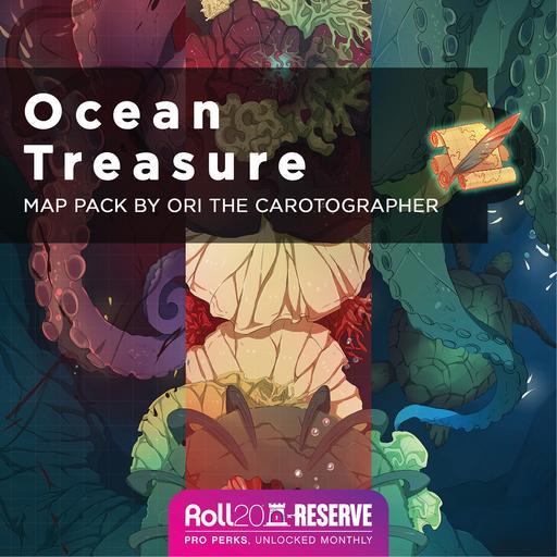 Ocean Treasure Map Pack and Addon