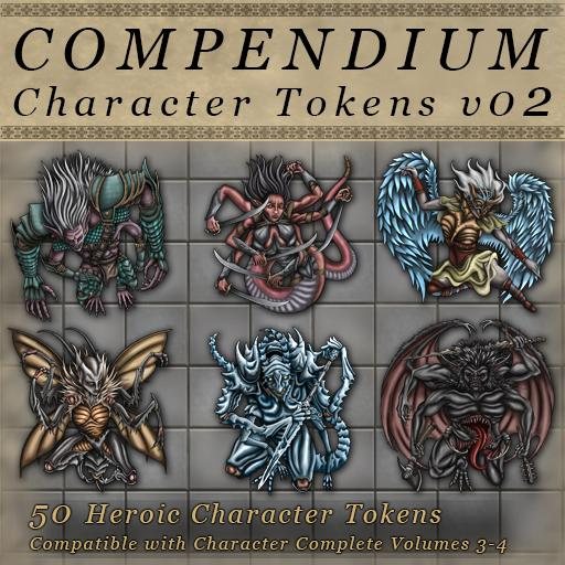 Compendium Character Tokens Vol 02