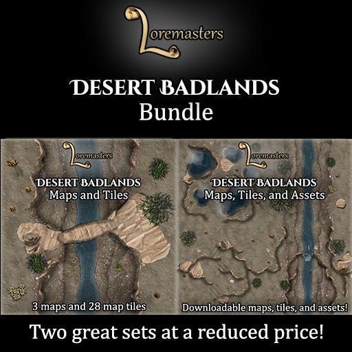 Desert Badlands: Bundle