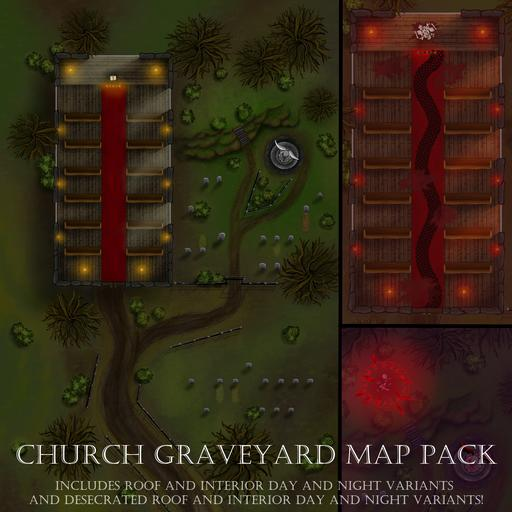 Church Graveyard Map Pack