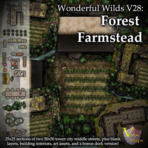 Wonderful Wilds V28: Forest Farmstead