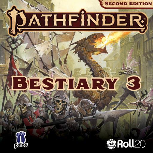 Pathfinder Second Edition Bestiary 3