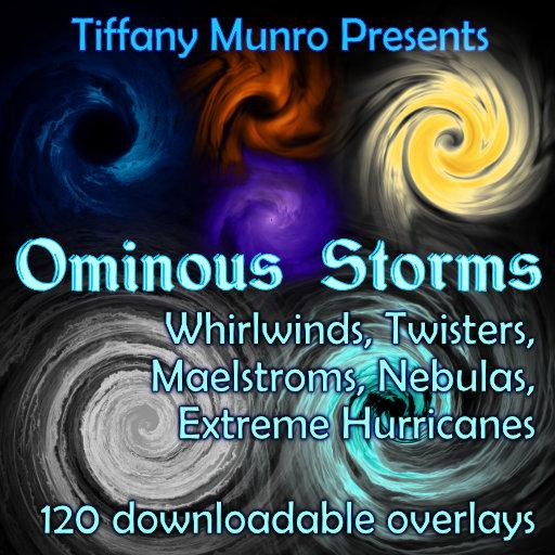Ominous Storms: Whirlpools, Hurricanes and Twisters