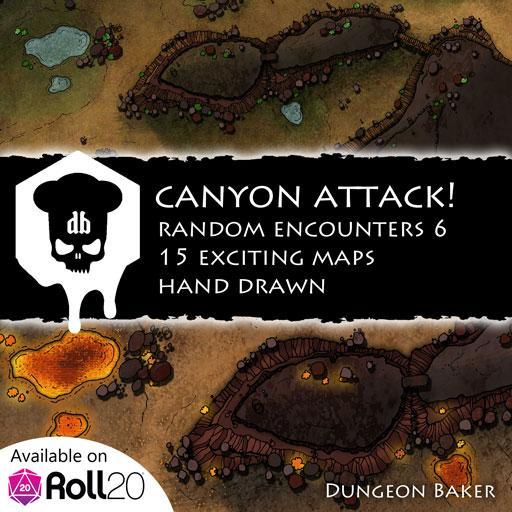 Canyon Attack!