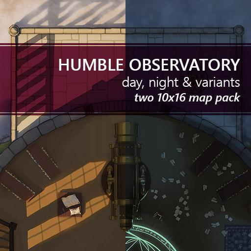 Humble Observatory Battlemaps