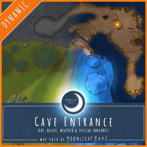 Dynamic   Cave Entrance