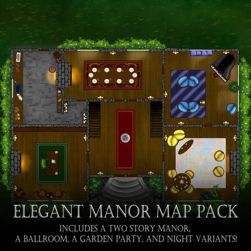 Elegant Manor Map Pack