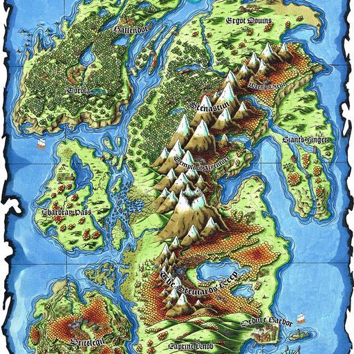 Everburn Islands Map