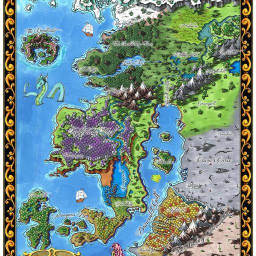 Starfall Map