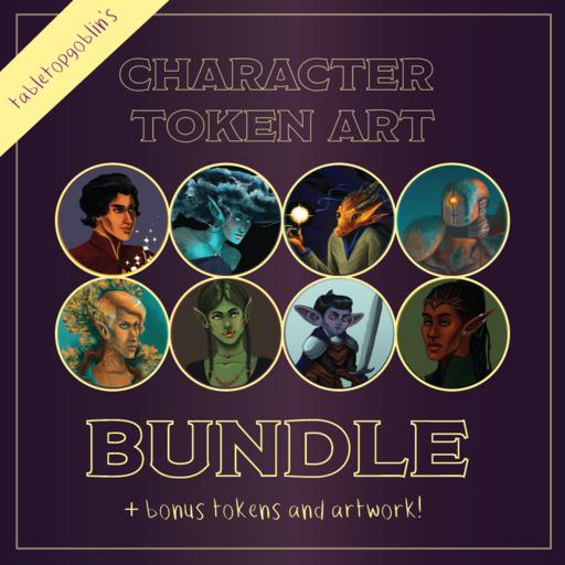 Character Token Art Pack I & II Bundle