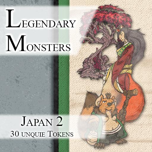 Legendary Monsters: Japan 2