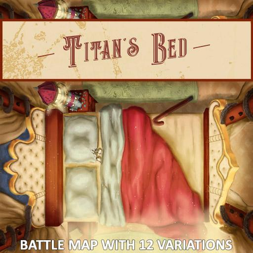 Titan's Bed Battle Map