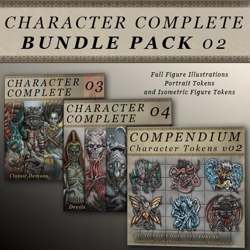 Character Complete Bundle Pack 02