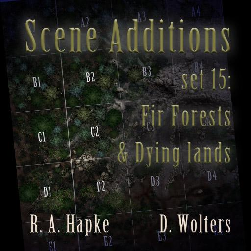 Scene Additions set 15: Fir Forests & Dying Lands