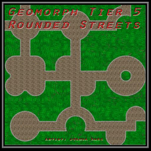 Geomorph Tier 5 Rounded Streets