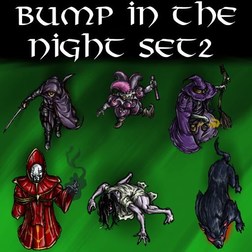 Bump in the Night Set 2