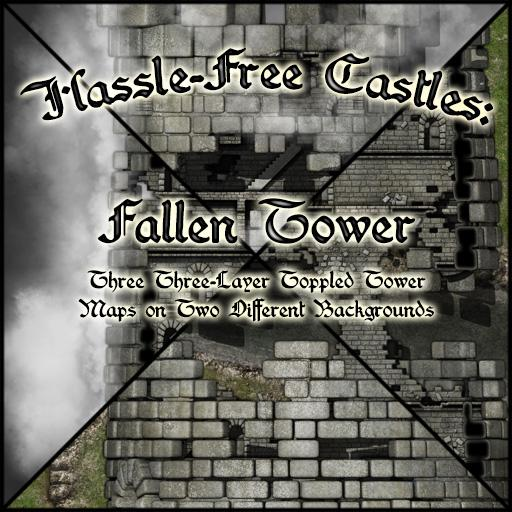 Hassle-Free Castles: Fallen Tower
