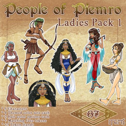 People of Piemro - Ladies Pack 1