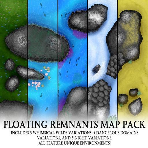 Floating Remnants Map Pack
