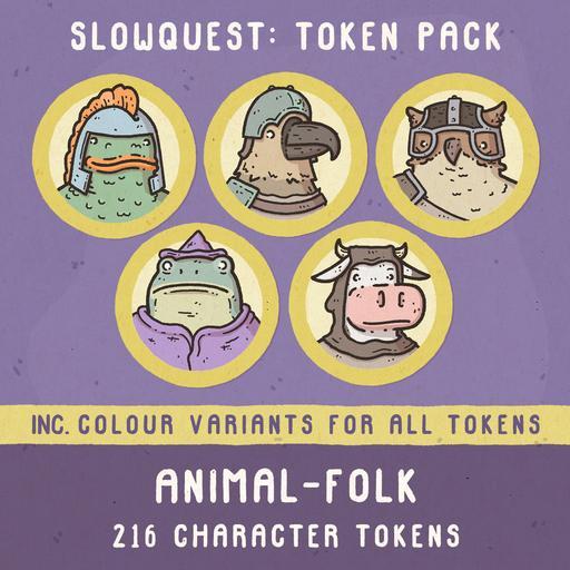 Animal-folk Tokens