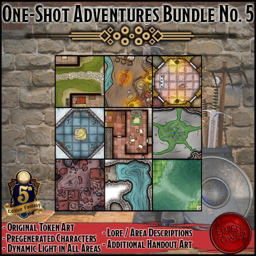 One-Shot Adventures Bundle No. 5