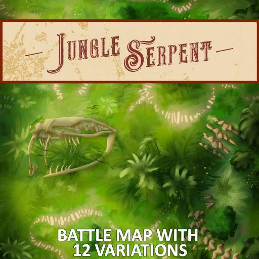 Jungle Serpent Battle Map