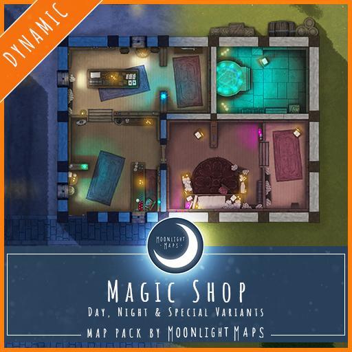 Dynamic   Magic Shop