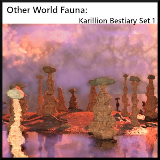 Other world Fauna: Karillion Bestiary: Set 1