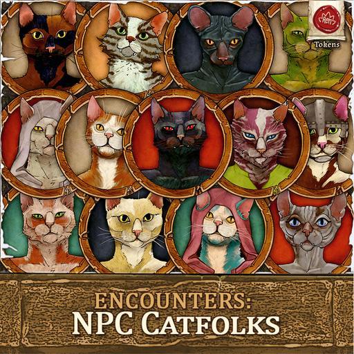 Encounters: NPC Catfolks