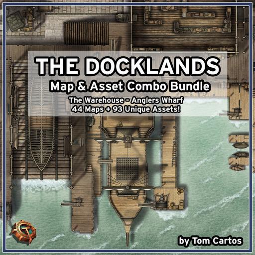Docklands Map & Asset Combo Bundle