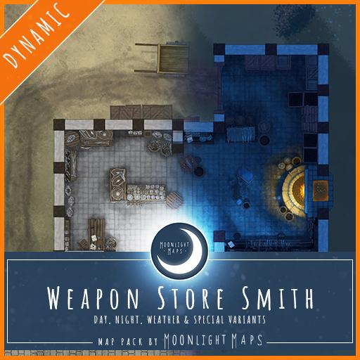 Dynamic   Weapon Store Blacksmith