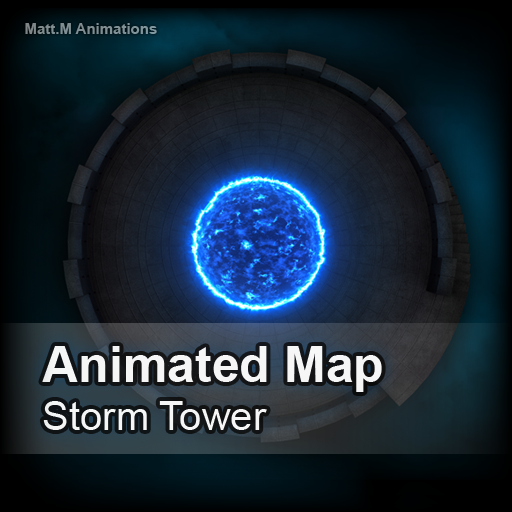 Animated Map - Storm Tower