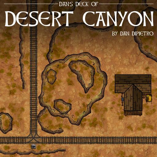 Dan's Deck of Desert Canyon