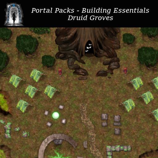 Portal Packs - Building Essentials - Druid Groves