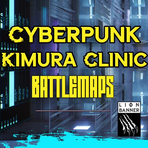 Cyberpunk Kimura Clinic Battlemaps