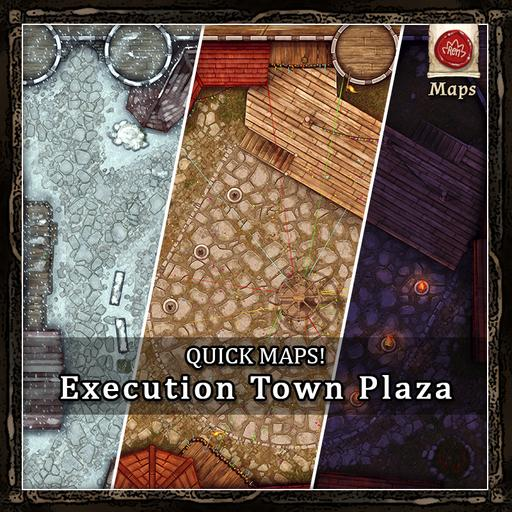 Quick Maps! - Execution Town Plaza!