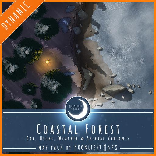 Dynamic   Coastal Forest