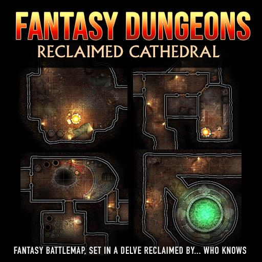 Fantasy Dungeons: Reclaimed Cathedral